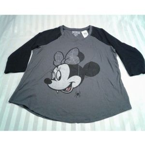 NEW Torrid true vintage Minnie Mouse shirt Sz 00